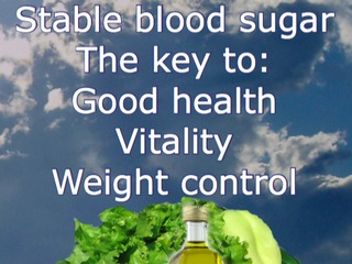 Online course about stable blood sugar